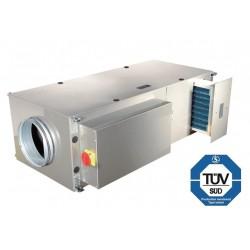 ALFA-C-05VS-DP-2, приточная установка с 2-х рядным водяным нагревателем