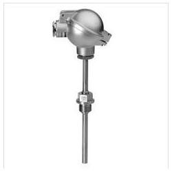 QAE3010.010 - Погружной датчик температуры 10 см Pt100, прямое погружение