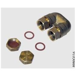 EG 394. Набор для гидравлического подключения вакуумного коллектора