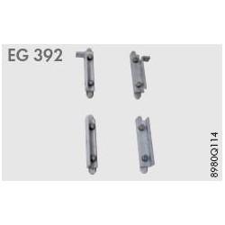 EG 392. Набор для крепления 1 вакуумного коллектора
