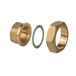 "ALG323B Латунный фитинг G 2 / Rp 1¼"", 100 °C, комплект из 3"""