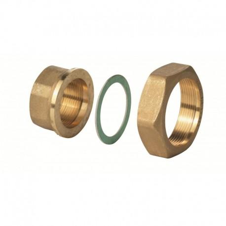 "ALG152B - Латунный фитинг G 1"" / Rp ½"", 100°C, комплект из 2"