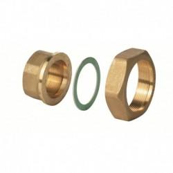 "ALG323B - Латунный фитинг G 2"" / Rp 1¼"", 100 °C, комплект из 3"