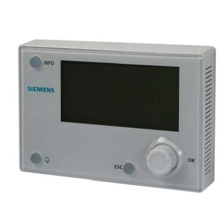 POL895.51/STD, Панель оператора для Climatix 600
