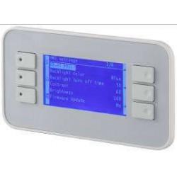 POL871.72/STD, Панель управления для Climatix 8 строк, IP65 (винтовое крепление)