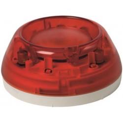 FDS229-R - Светозвуковой оповещатель красный