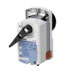 GDB161.9E, Привод шарового клапана, поворотный, 5 Nm, DС 0…10