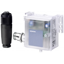 QBM4100-1D - Датчик перепада давления в воздуховоде с дисплеем, 0…100 Па, с калибровочным сертификатом