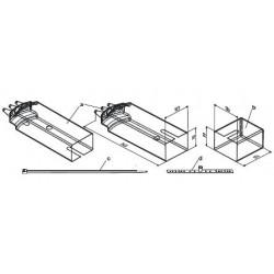 ASK75.4, Кожух для защиты от атмосферных воздействий для приводов поворотного типа