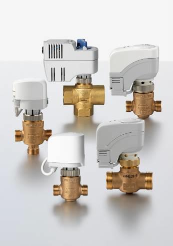 Клапаны и приводы для помещений и зонального применения Siemens