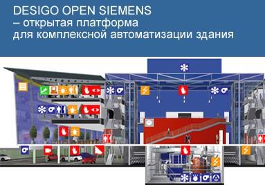 DESIGO OPEN Siemens Автоматизация зданий и стандартные протоколы